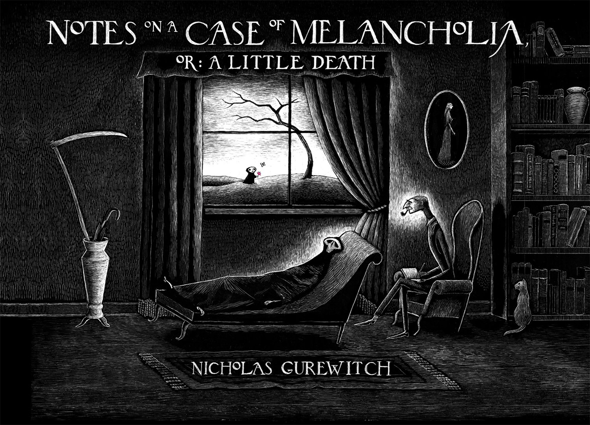 Notes on a Case of Melancholia: or A Little Death Book Cover